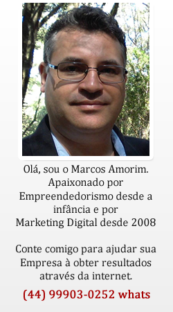Marcos Amorim - Consultoria de Marketing Digital Para Pequenas Empresas